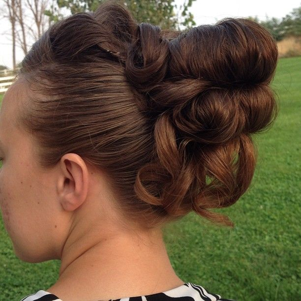 100 Best Images About Hair Styles On Pinterest Pin Curl Updo