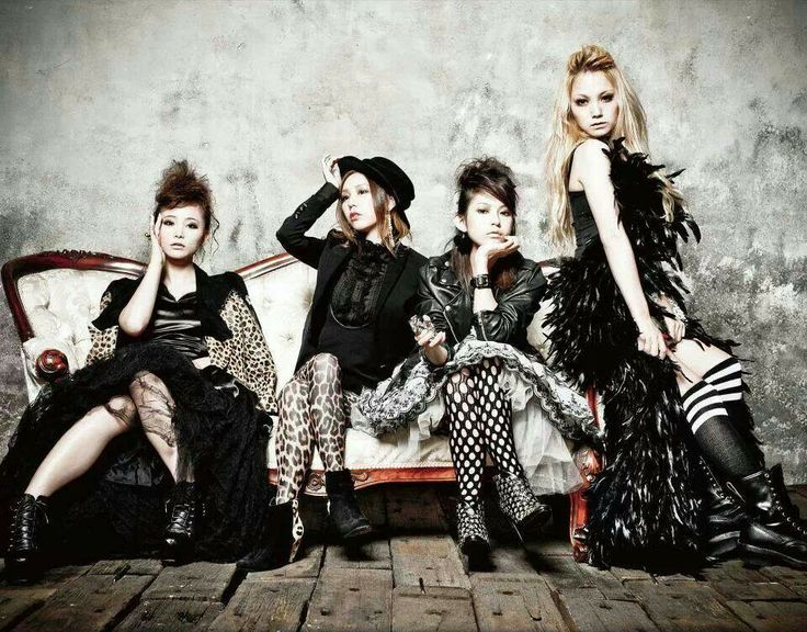 Jpop Girl Groups Wallpaper Scandal Japanese Rock Band Scandal J Rock Pinterest