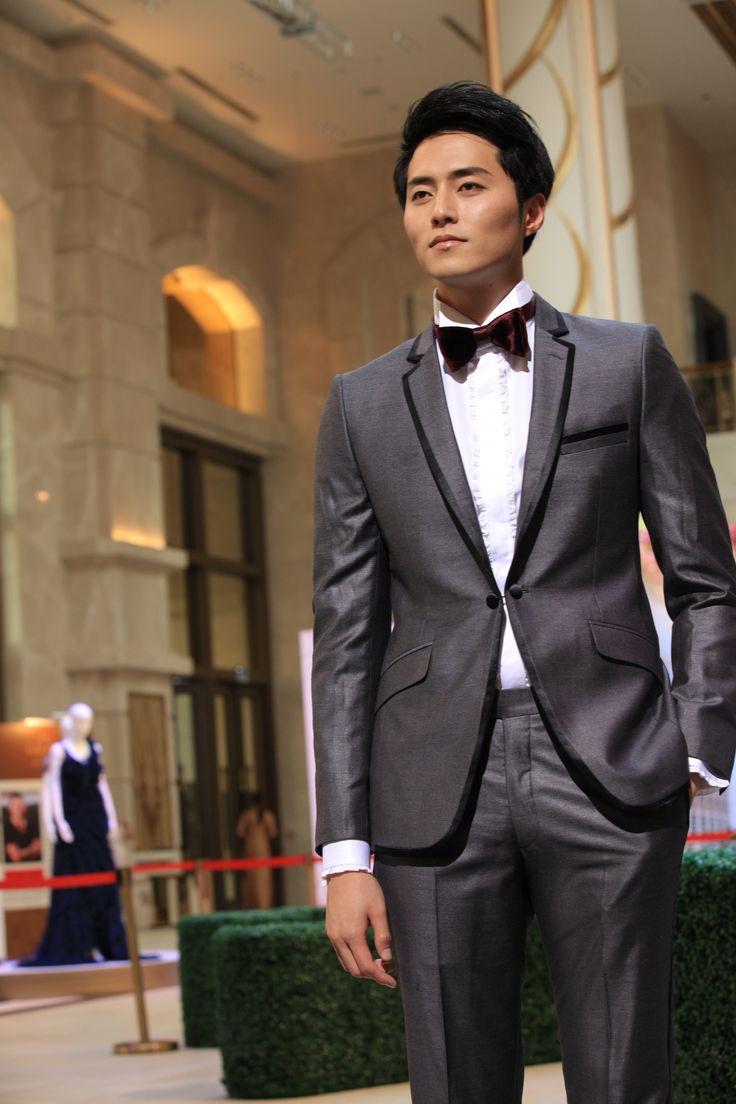 MISURINO grey tuxedo  MISURINO 20132014 Collection Catwalk Show  Pinterest