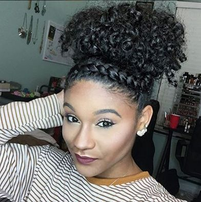 25 Best Ideas About Natural Hairstyles On Pinterest Protective
