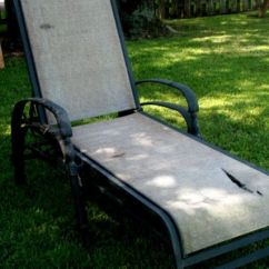 Sling Back Patio Chairs Infant Sitting Chair Lounge Fabric Replacement - Woodworking Projects & Plans
