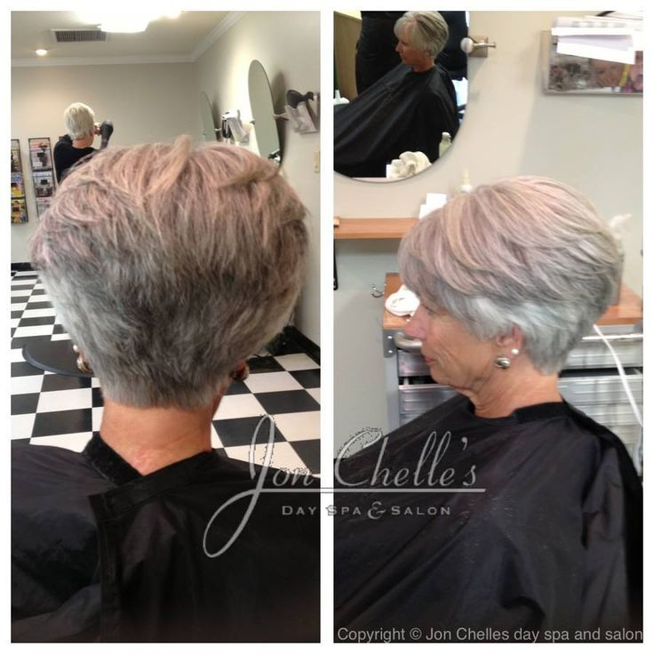 Short Stacked Womens Cut By Julia Winstead Aveda