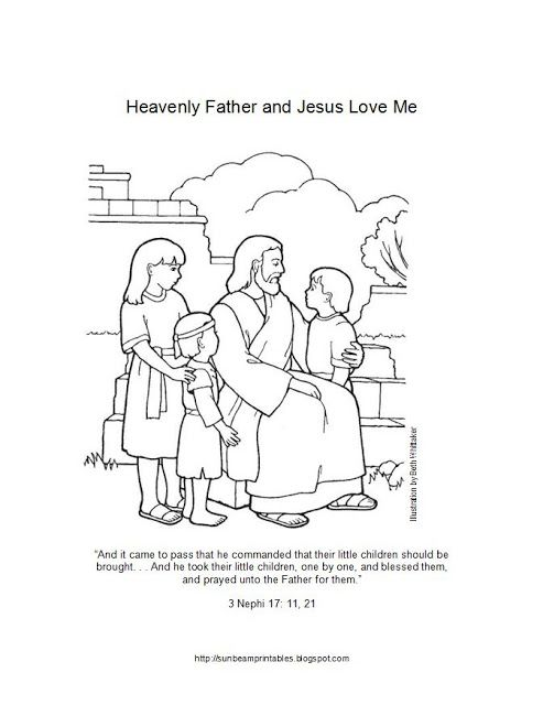 253 best LDS Children's coloring pages images on Pinterest