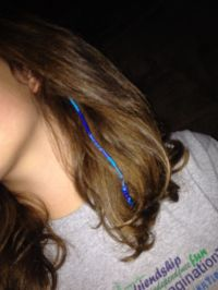 Embroidery Floss Hair Braid | ausbeta.com