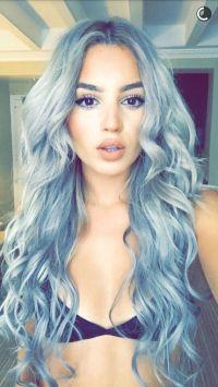 Best 25+ Blue gray hair ideas on Pinterest | Gray hair ...