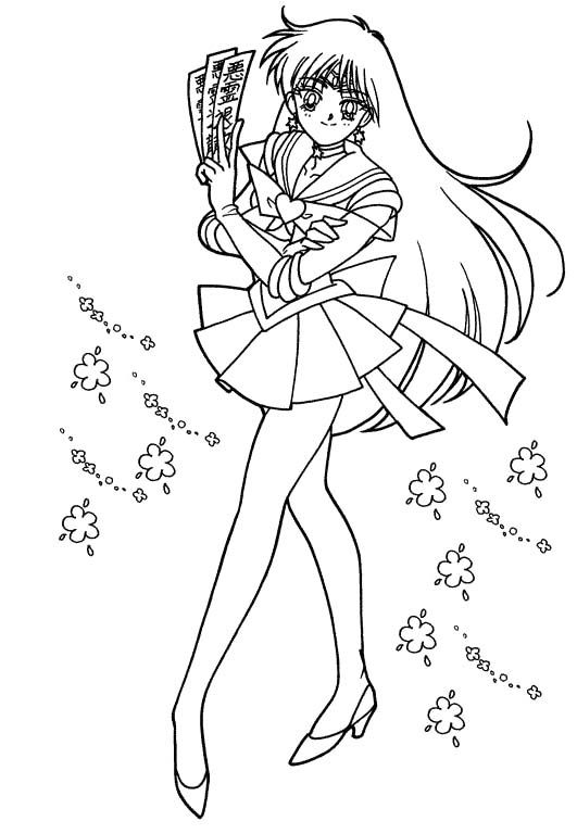 Fairy Tale Anime Coloring Sheet Coloring Pages