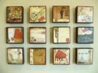 7 best images about Wood Art Blocks on Pinterest ...