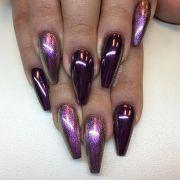 ideas purple acrylic