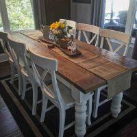 25+ best ideas about White Farmhouse Table on Pinterest ...
