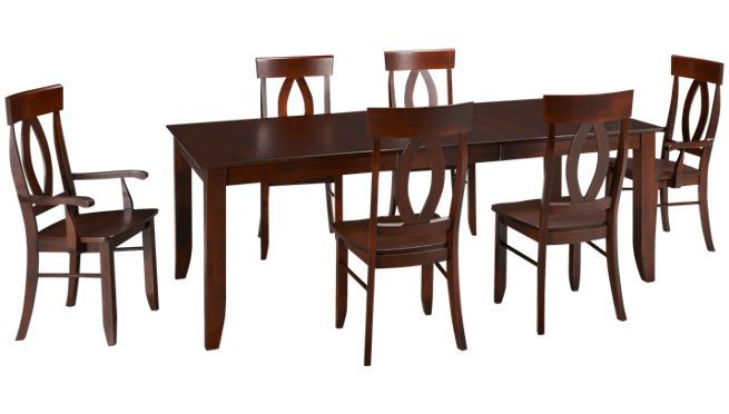 Canadel Brandy 7 Piece Dining Set Buy Dining Sets At