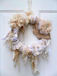 Best 25+ Vintage Wreath ideas on Pinterest