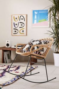 Rattan Rocker | Urban outfitters, Awesome and Rockers
