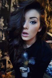 dark brown hair hairstyles