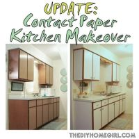 25+ best ideas about Contact paper cabinets on Pinterest ...