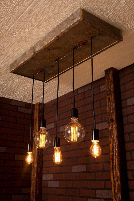 25+ best ideas about Edison bulb chandelier on Pinterest