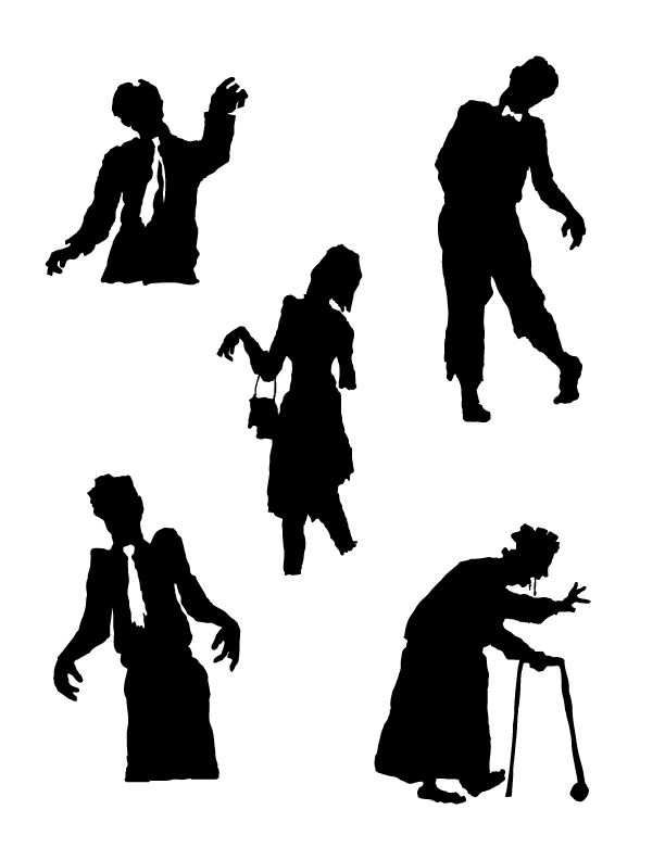 455 best images about halloween silhouettes on Pinterest