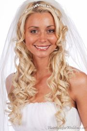 wedding long curly hairstyles
