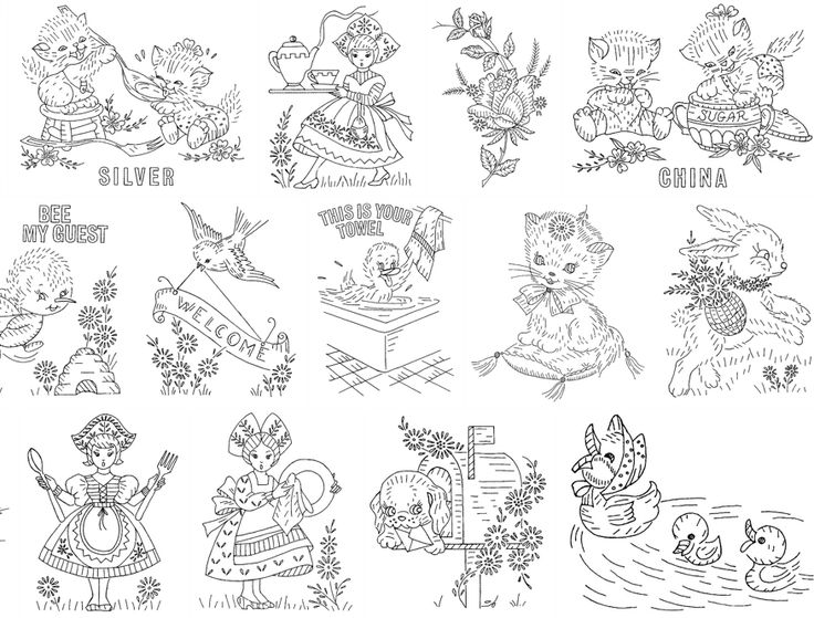 1340 best images about More Embroidery Patterns Please on