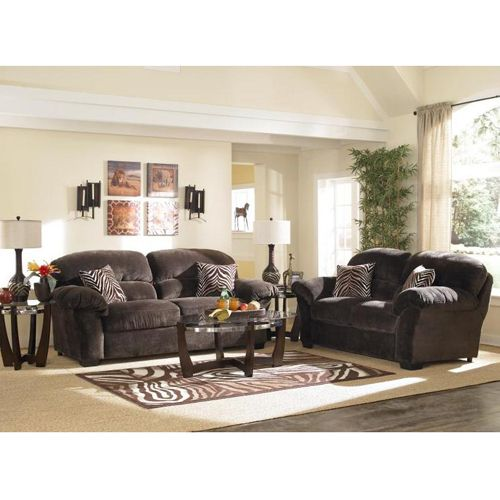 living rooms with brown couches better homes and gardens room decor woodhaven ultra plush ii collection includes ...