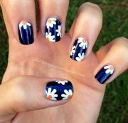 flower nails #flower #nails #diy