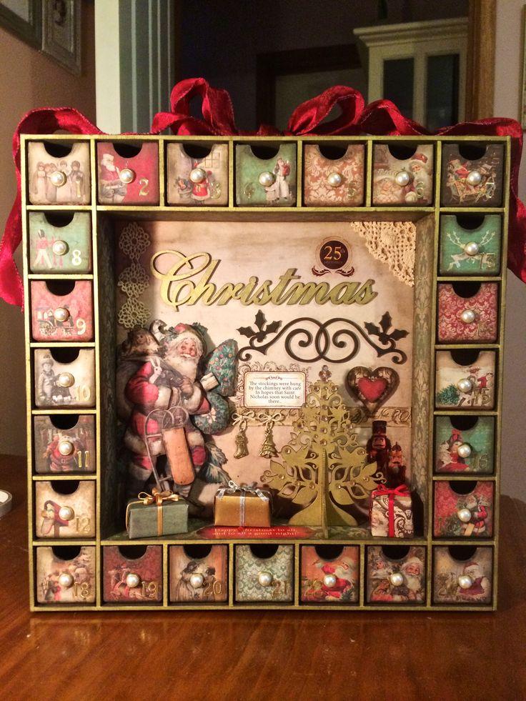 Kaisercraft Advent Calendar Made By Me Pinterest