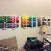 IKEA bag holders for vinyl   Craft Room Inspiration ...