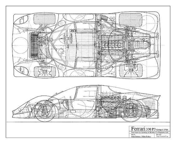porsche 356 wiring diagram 3 prong dryer outlet race car chassis blueprints - google search: | race-mania by jagmania pinterest cars and ...