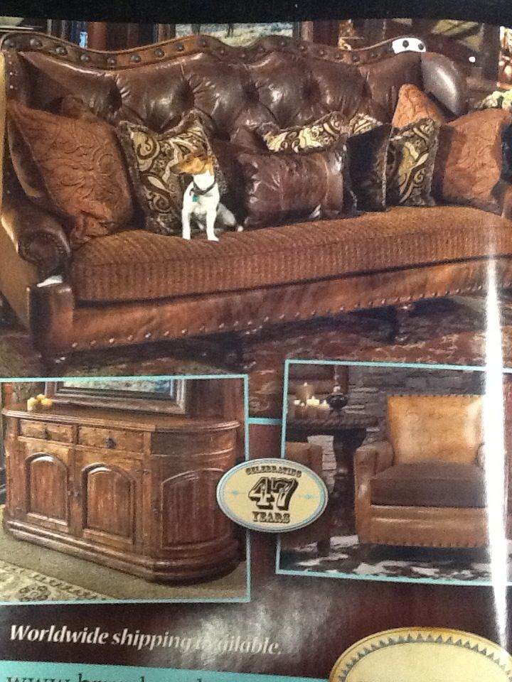 best american made leather sofas velvet sofa furniture village 215 images about rustic cowboy deco on pinterest ...