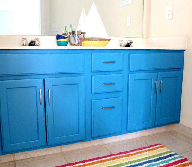 25+ best ideas about Painting bathroom vanities on