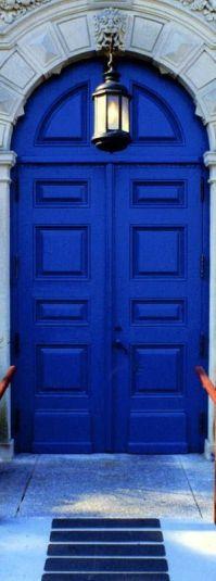 Cobalt blue, Cobalt and Blue doors on Pinterest