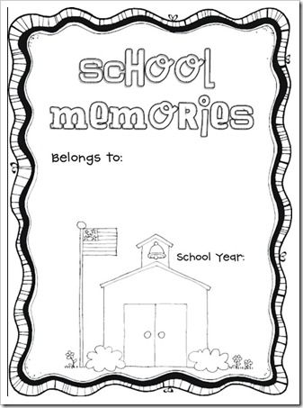 1000+ ideas about School Memory Books on Pinterest