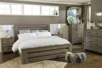 King Master Bedroom Sets | ... Zelen Vintage Casual Rustic ...