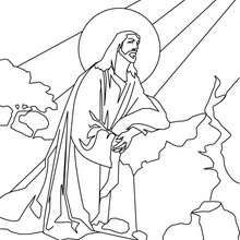 17 Best ideas about Jesus Coloring Pages on Pinterest