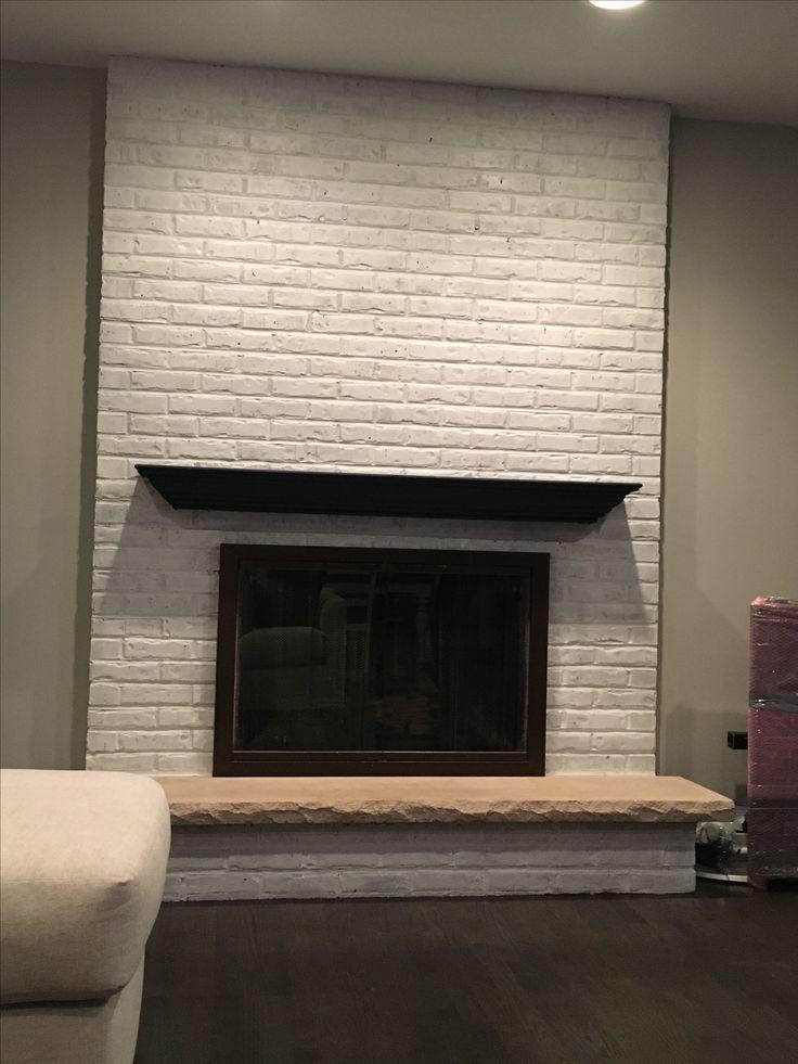 1000 ideas about White Washed Fireplace on Pinterest  How To Whitewash Brick Whitewashed