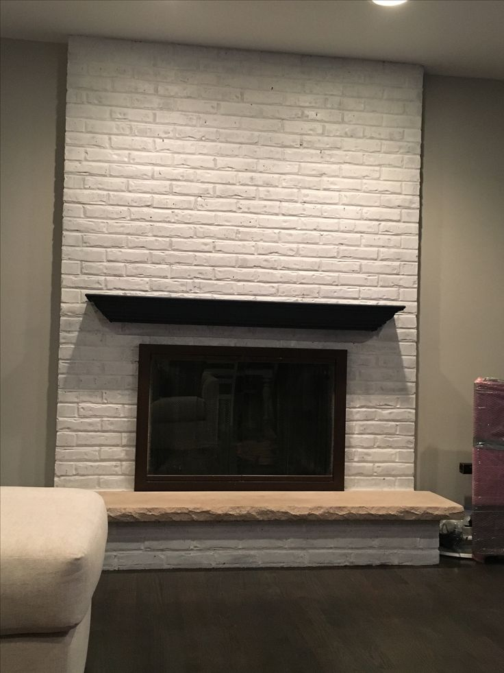 White Painted Fireplace Brick 1000+ Ideas About White Washed Fireplace On Pinterest
