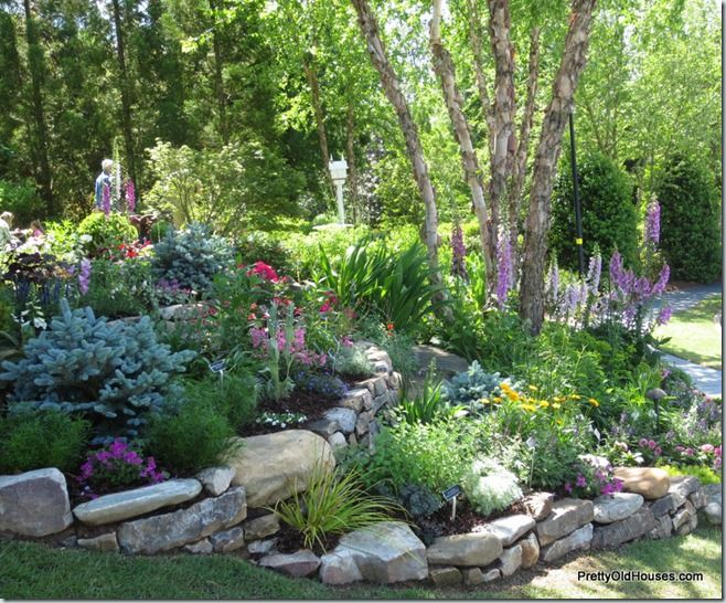 25 Best Ideas About Rock Flower Beds On Pinterest Landscape