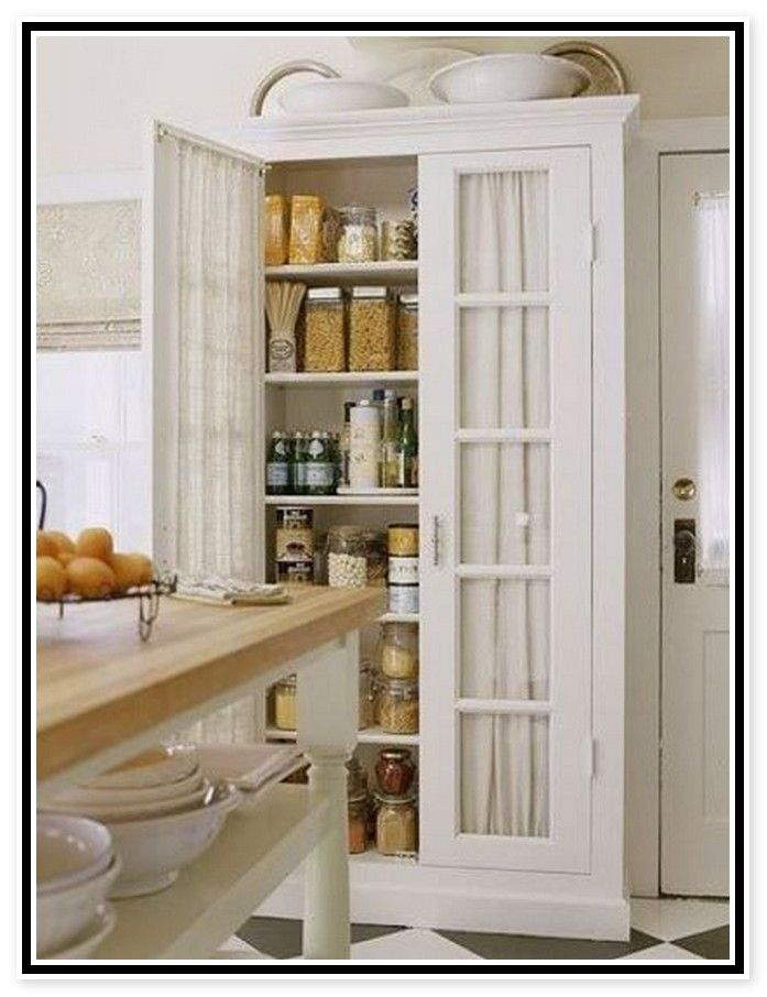 Free Standing Kitchen Pantry Cabinets  CDxNDcom  Home