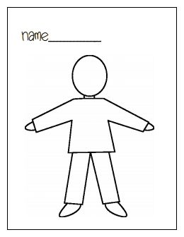 17 Best images about Preschool all about me on Pinterest