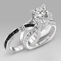 25+ best ideas about Black Diamond Wedding Rings on ...
