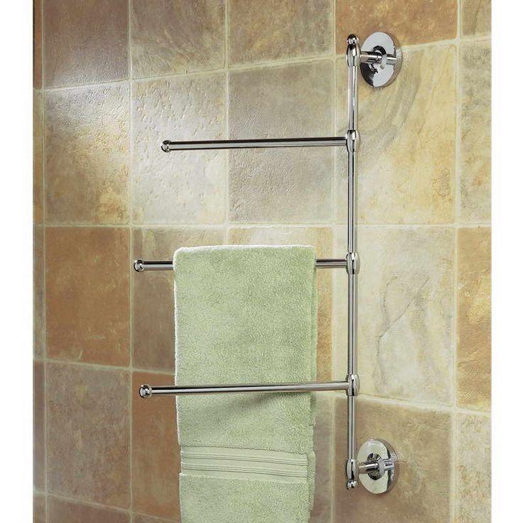 1000 ideas about Bathroom Towel Bars on Pinterest  Throw