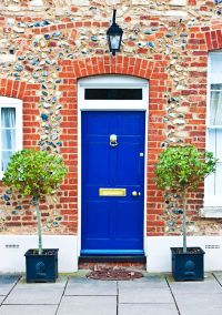 25+ best ideas about Navy blue houses on Pinterest