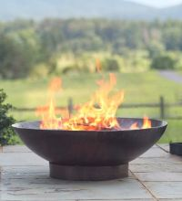 Best 25+ Metal fire pit ideas that you will like on Pinterest