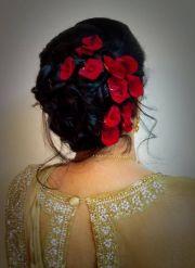 indian bride's bridal reception