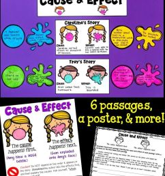 Cause And Effect Writing Activities 4th Grade [ 1269 x 736 Pixel ]