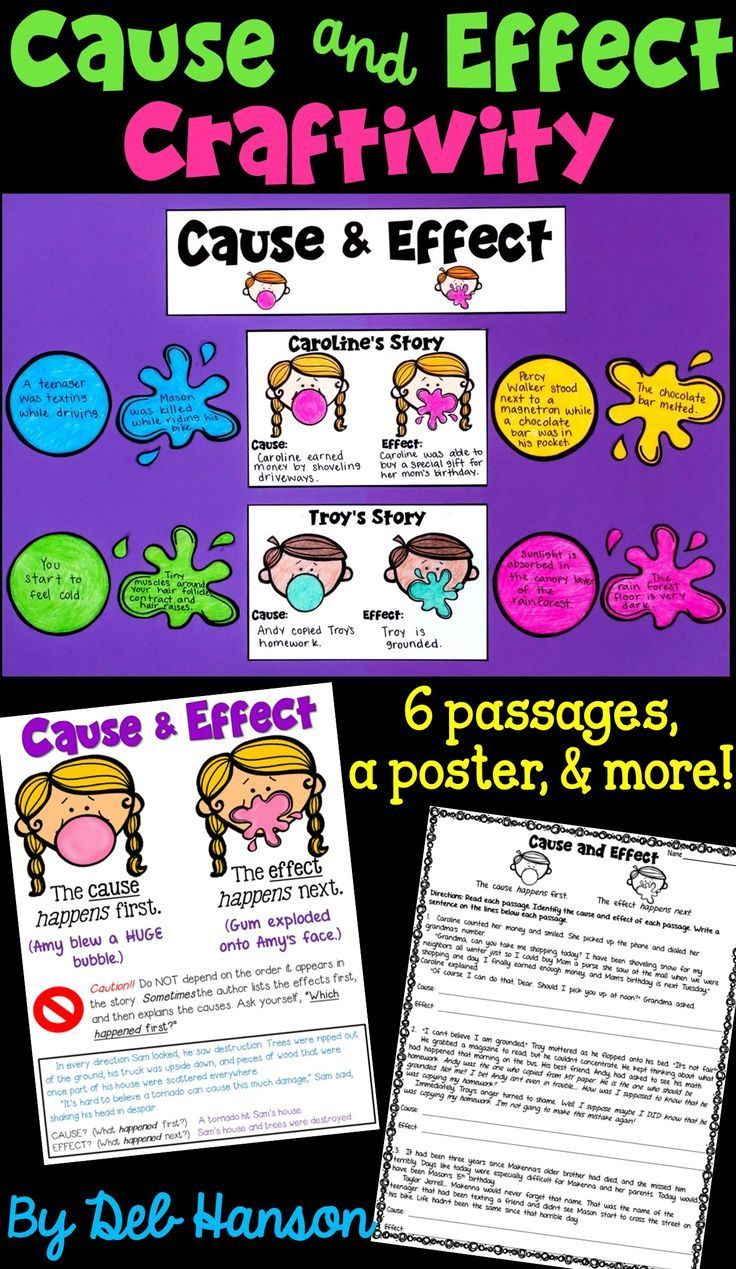 medium resolution of Cause And Effect Writing Activities 4th Grade