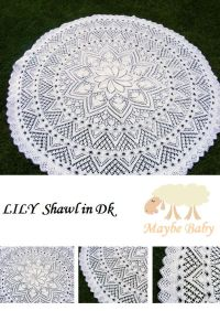 214 best images about Baby Shawls on Pinterest | Knitted ...