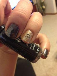 Pittsburgh penguin nails | Pens | Pinterest | Penguin ...