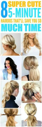 30 One Bedtime Easy Hairstyles With Hair Tie Hairstyles Ideas