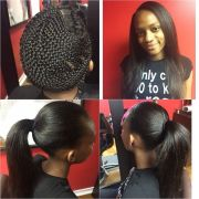 sew in hairstyles teenagers