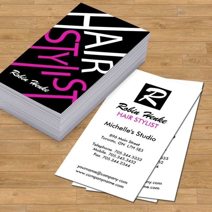 17 Best images about Hair Salon Business Card Templates on Pinterest  Business card templates